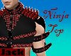 -N- Red Studded Armor