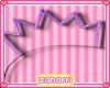➸ Fancy Crown (purple)