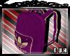 [R]AdidasPurple Backpack