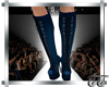 Gia Boots Blue