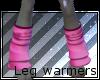 Male Pink leg warmers