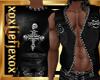 [L] Rock Leathers Vest M