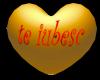 Romanian Love Gold Heart