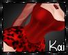 SEXY RED CHEETAH DRESS