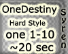 One Destiny - HardStyle