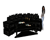 *Calli*Blk Couch w table