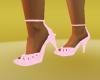 pink heel shoes