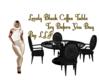 Lovely BlackCoffee Table