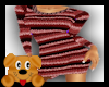 !A! Sweater dress red
