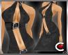 *SC-SUBTLE Black Gown