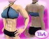 Musclegirl Halter Steel