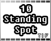 10 Standing Pose Spot.
