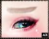 舍. Blonde Eyebrows