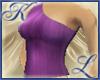 Off Shoulder Purple