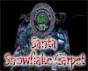 Santa Snowflake Carpet