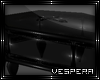 -V- Glass Coffin Table