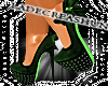 TheV Green Heels