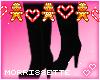 🎅EML-BIMBO Blk Boots