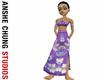 Indian Strapless Dress