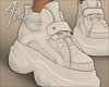$ Beige Sneakers