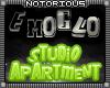 EmoGlo Studio Apartment