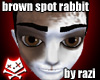 Brown Spot Rabbit Ears