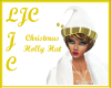 Christmas HollyGoldHat