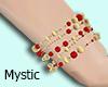M| Red Gold Bracelet