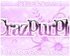 Crazpurple Nametag