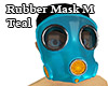 Rubber Mask M teal