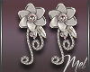 Mel-Corina Wed.Earrings
