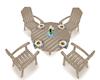 Beach Table Set