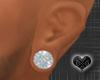 *Small diamond Ear Plugs