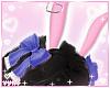 ♡. Navy Bunny Ears