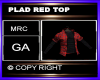 PLAD RED TOP