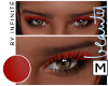{M} Red Eyeshadow