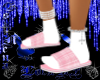 Pink Plaid Slippers