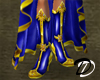 Bejeweled boots (blu)
