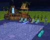 Midnight Skinny Dip Pool