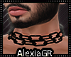[A] Black Chains Choker