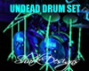 UNDEAD GLOWING DRUMSET
