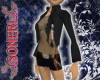 Sasha black shorts/coat