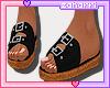 ➸ Sandals (black)