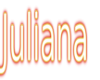 Juliana Sticker