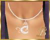 diamond C necklace