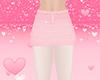 Pink Skirt Wht Leggings