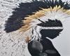 Black Feathers Wall Art
