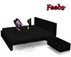Black Flirtypose bed