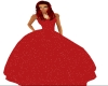 red sparkle gown