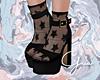 G̷. Heels + Star Socks
